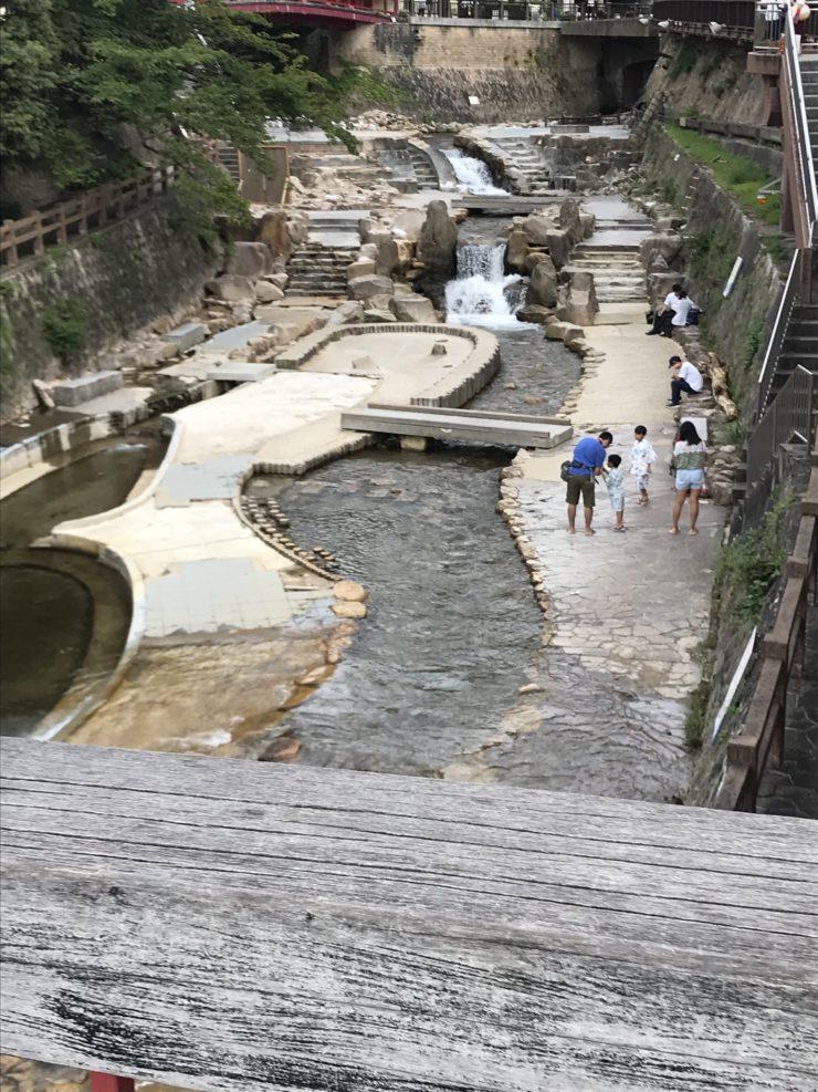 Arima onsen river