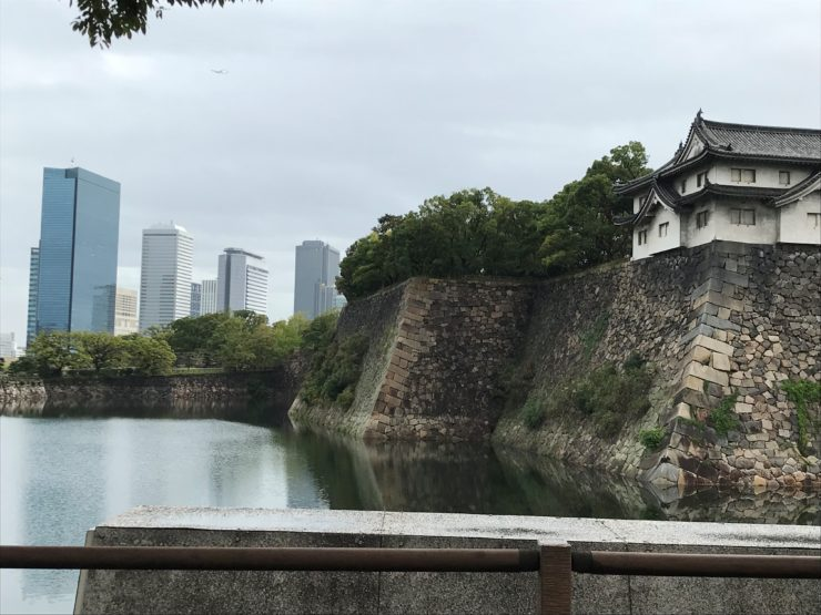 Vue chateau Osaka