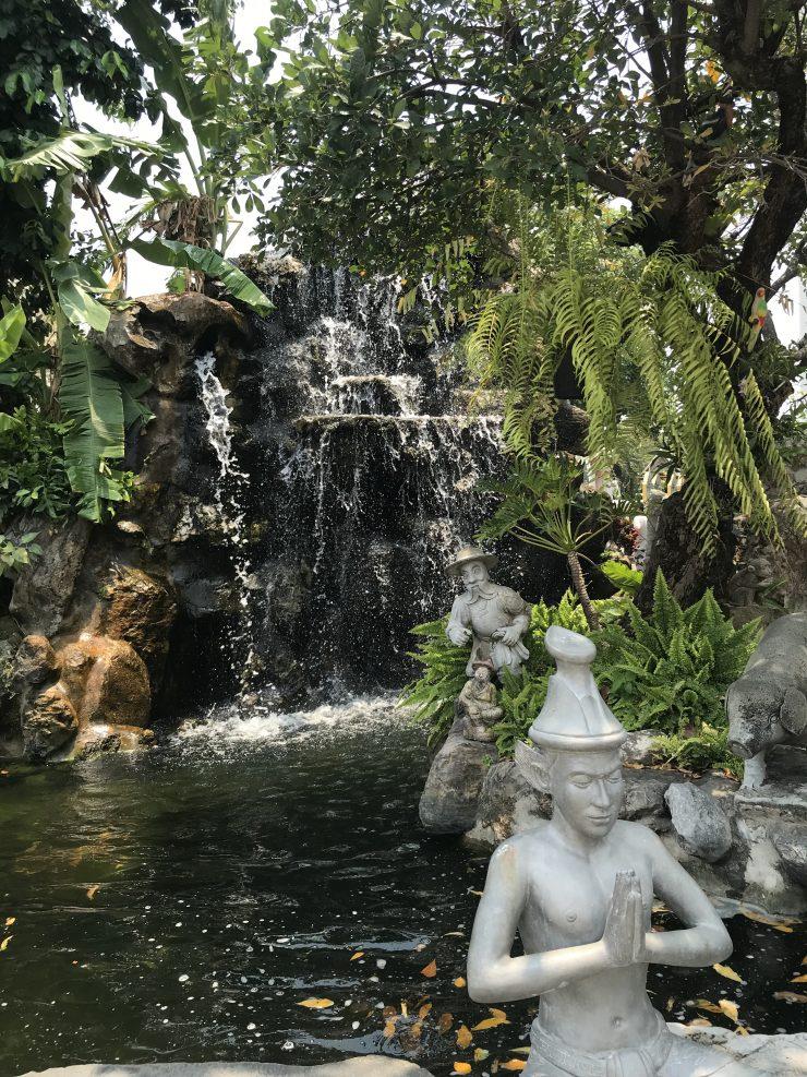 bangkok wat pho wat arun thailande